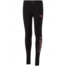 PUMA Logo Leggings Black