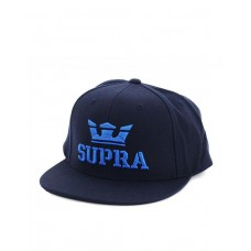 SUPRA Above II Snapback Hat Navy/Royal