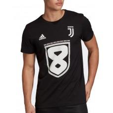 ADIDAS Juventus 8 Tee Black
