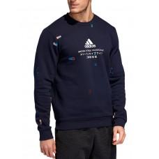 ADIDAS Global Citizens Crew Sweatshirt Navy
