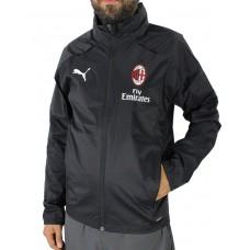 PUMA Ac Milan Rain Jacket Black