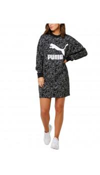 PUMA Classics Dress AOP Black
