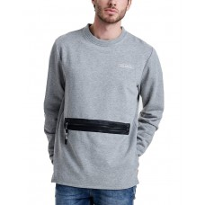 ONLY i SONS Tobi Pocket Sweatshirt Grey