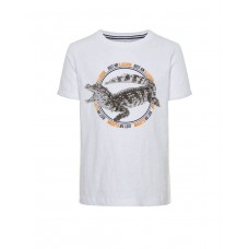 NAME IT Crocodile Tee White