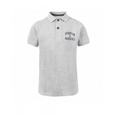 FRANKLIN AND MARSHALL Core Logo Polo Grey