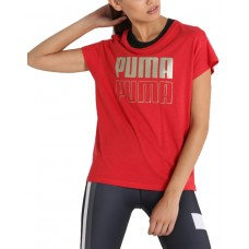 PUMA Modern Sport Graphic Tee Red