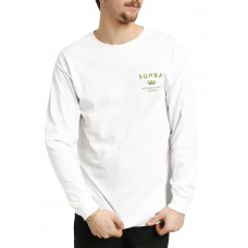 SUPRA Trademark Longsleeve Blouse White
