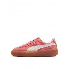 PUMA Suede Snk Platform Pink
