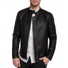 ONLY i SONS James Leather Jacket