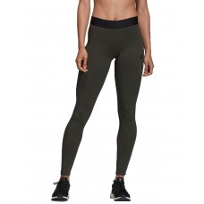 ADIDAS Asymmetrical 3-Stripes Tights Green