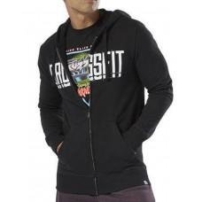 REEBOK CrossFit Zip Hoodie Black