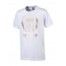 PUMA Greatest Hits Boys Tee White