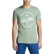 JACK i JONES Printed Tee Green