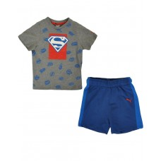 PUMA Justice League Superman Set Grey