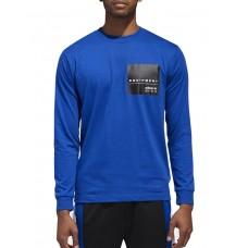 ADIDAS Eqt Long Sleeve T-Shirt Blue