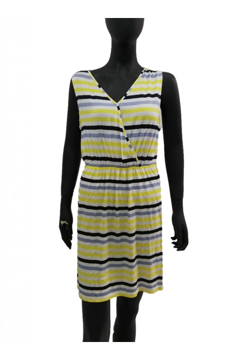 JANINA Summer Dress Yellow Small