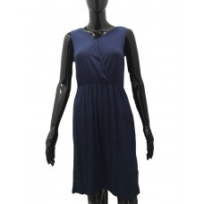 JANINA Summer Dress Navy