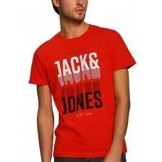 JACK i JONES Booster Tee Orange