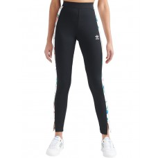 ADIDAS Floral Leggings Black