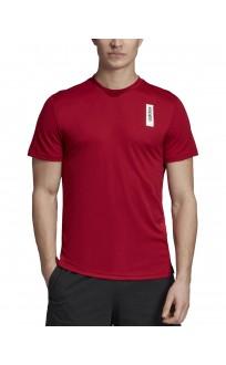 ADIDAS Brilliant Basics Tee Red