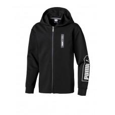 PUMA Nu-Tility Hooded Jacket Black