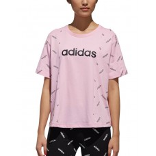 ADIDAS Graphic Aop Tee Purple