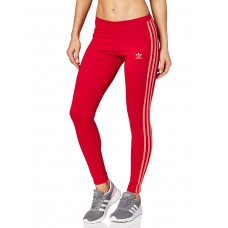 ADIDAS Originals 3-Stripes Leggings Red