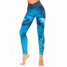 Дамски Клин EX FIT Legging Blue Butterfly
