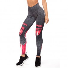Дамски Клин EX FIT Legging Red Muscle