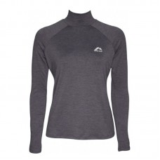 Дамска Блуза MORE MILE Train To Run Womens Long Sleeve Funnel Neck Running Top