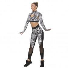 Дамски Комплект Клин / Бюстие / Ръкави EX FIT White Spider