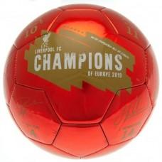 Топка LIVERPOOL Champions Of Europe Football Signature