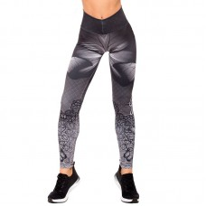 Дамски Клин EX FIT Legging Gray Butterfly