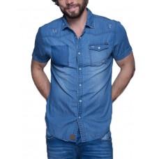 MZGZ Celin Shirt Dark Blue