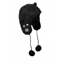 SUBLEVEL Ear Hat Black